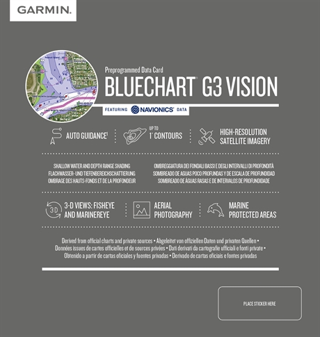Garmin BlueChart® G3 Vision HD Regular
