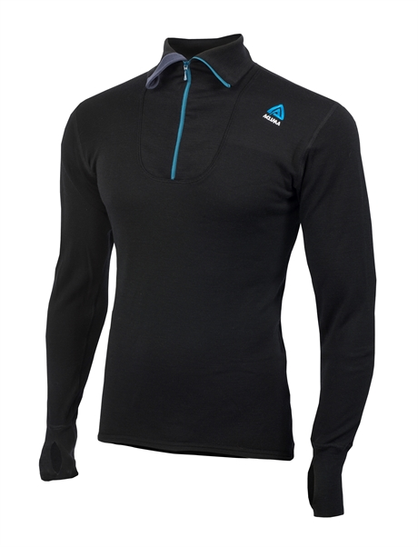 Aclima Doublewool Polo Shirt with zip
